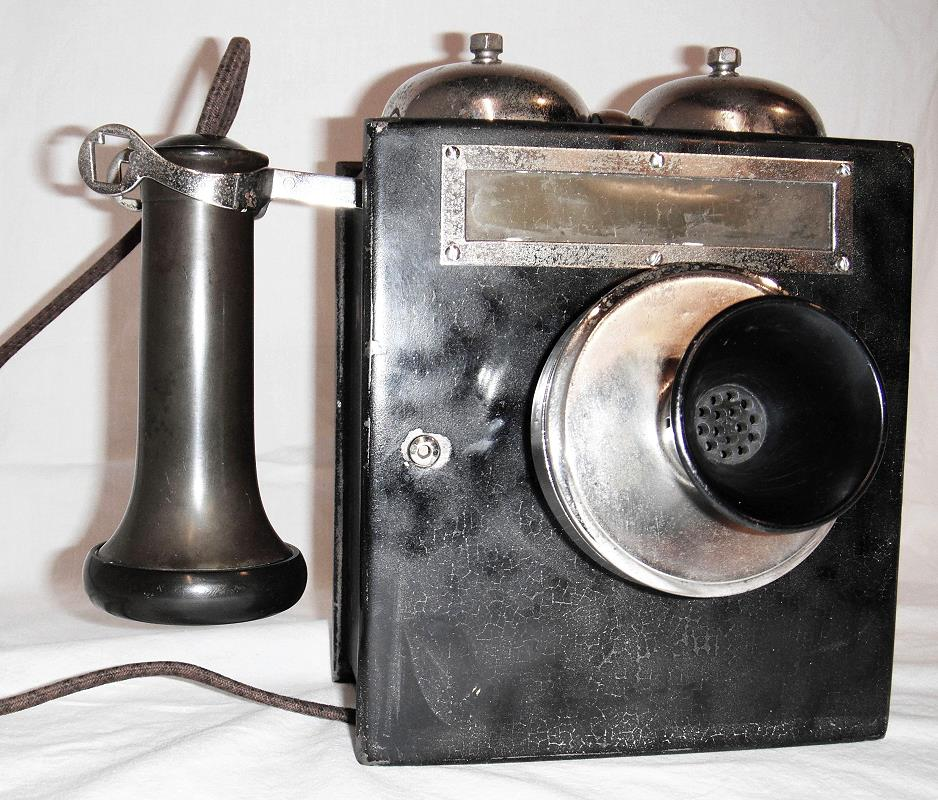 Keystone Iron Box Telephone Set #1